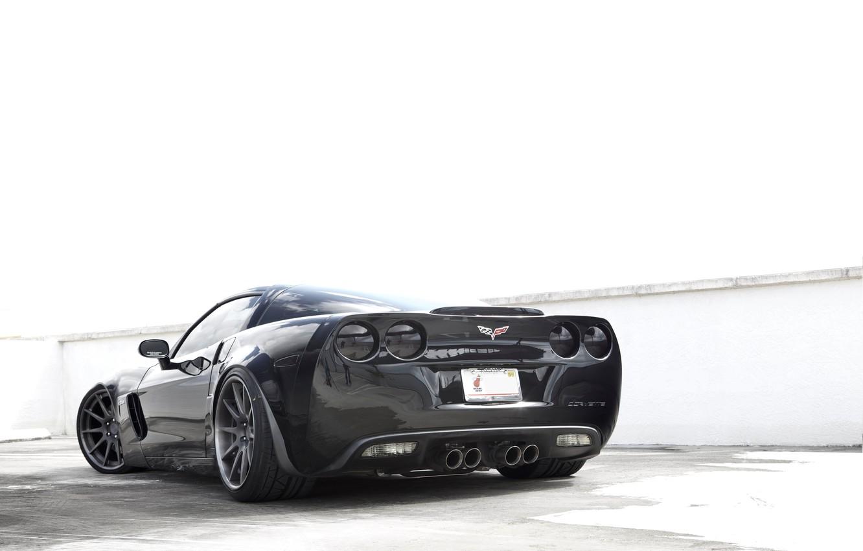 Photo wallpaper corvette, chevrolet, cars, z06, auto wallpapers, car Wallpaper