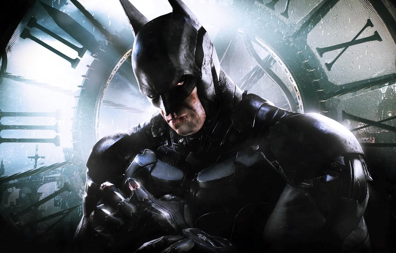 Photo wallpaper Cloak, Armor, Bruce Wayne, The Dark Knight, Bruce Wayne, Equipment, Warner Bros. Interactive Entertainment, Rocksteady …