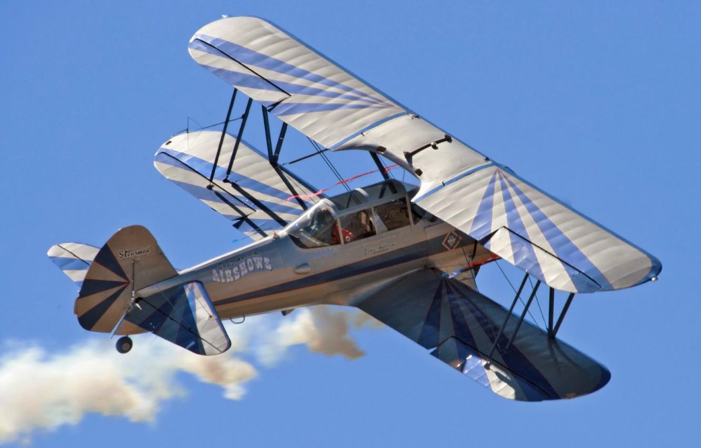 Photo wallpaper the plane, biplane, PR13D