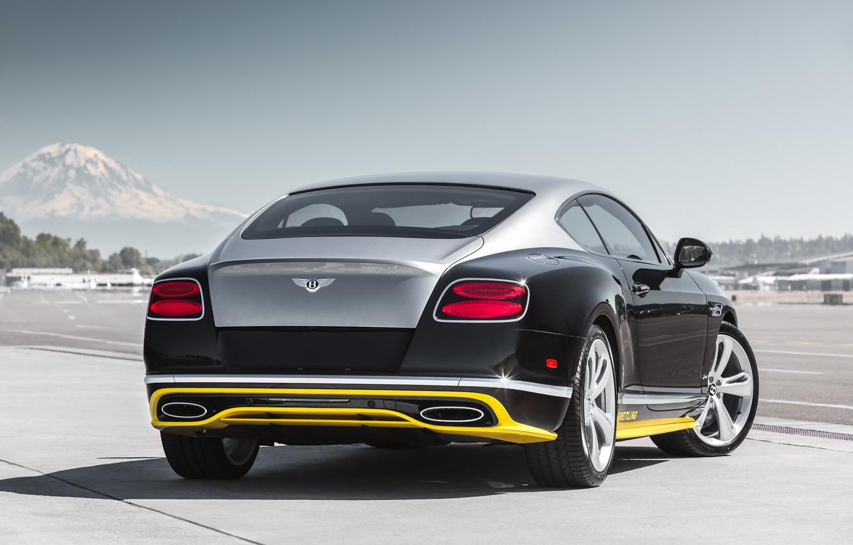 Photo wallpaper Bentley, Continental, Speed, Bentley, continental, 2015