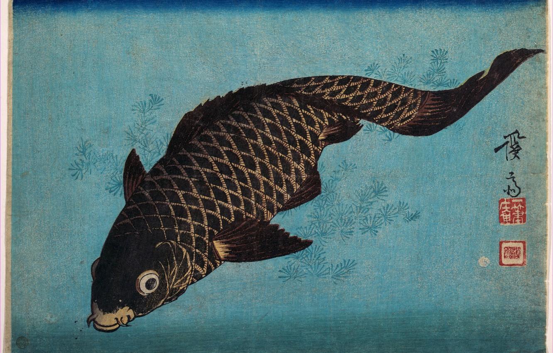 Photo wallpaper Japan, art, Keisai Iron, Rabka
