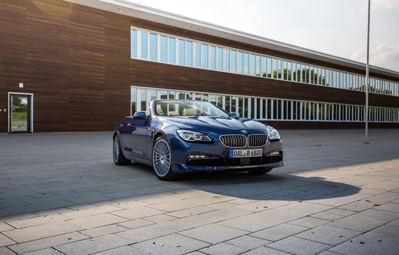 Photo wallpaper BMW, BMW, convertible, Cabrio, F12, Alpina, Bi-Turbo, 2015, Edition 50