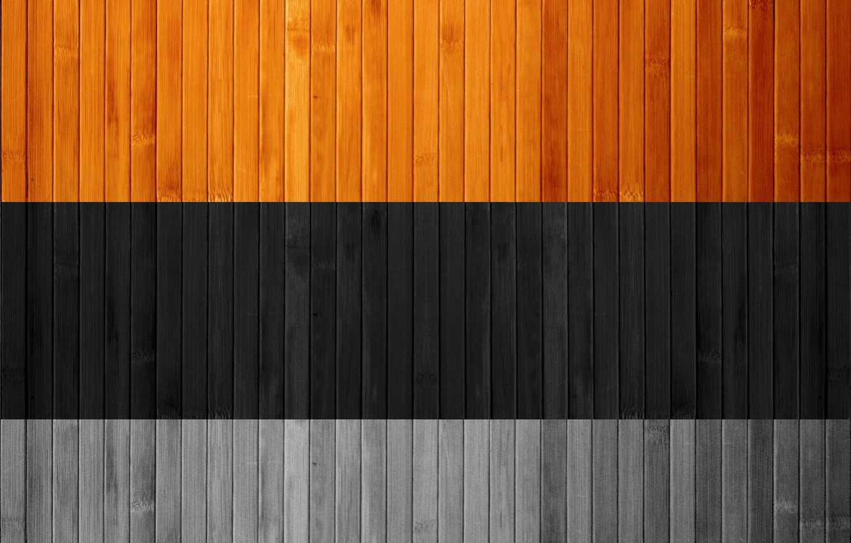 Photo wallpaper black, Board, grey, wooden, brown