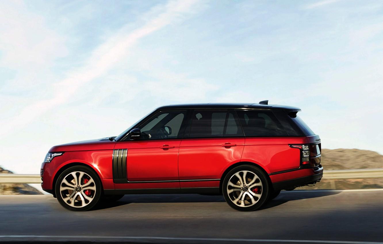 Photo wallpaper Range Rover, Dynamic, SVAutobiography