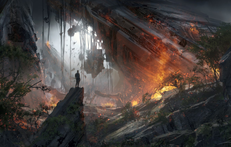 Photo wallpaper Game, Titanfall 2, EA