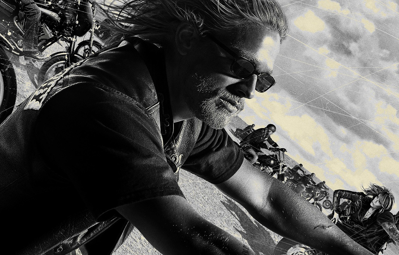Wallpaper Crew Sons Of Anarchy Man Glasses Bikes Soa Beard