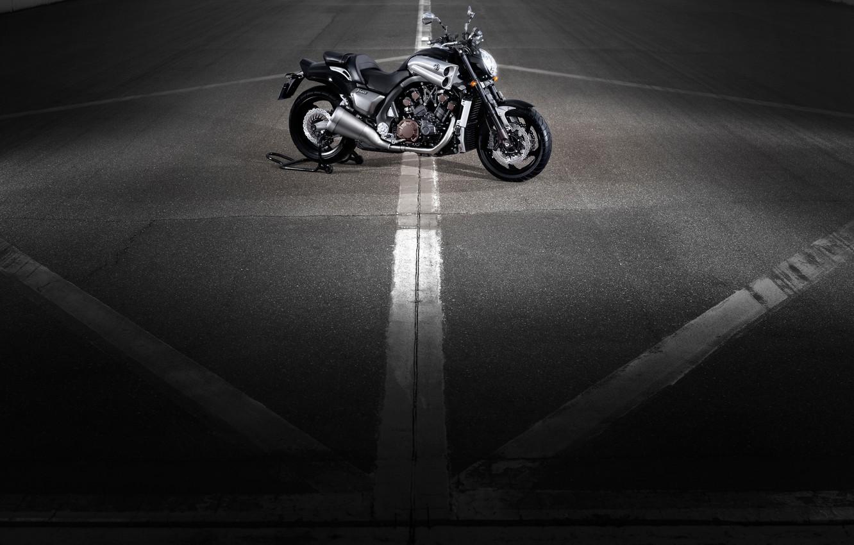Photo wallpaper Motorcycle, Yamaha, Moto