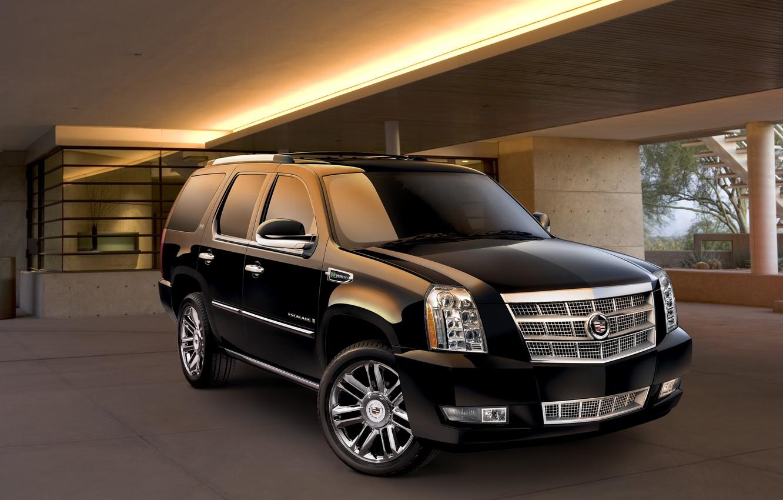 Photo wallpaper Cadillac, Escalade, Hybrid, Cadillac, 2014, Escalade, Platinum Edition