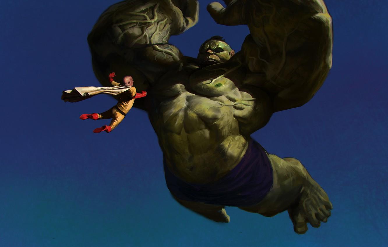 Wallpaper Hulk Anime Crossover Marvel Comics Bruce