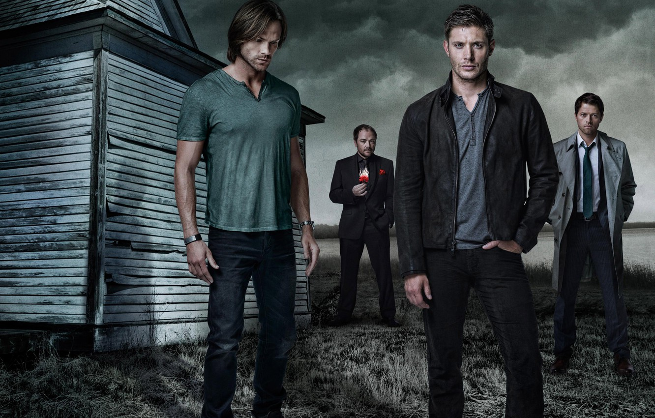 Photo wallpaper Supernatural, supernatural, Sam, Dean