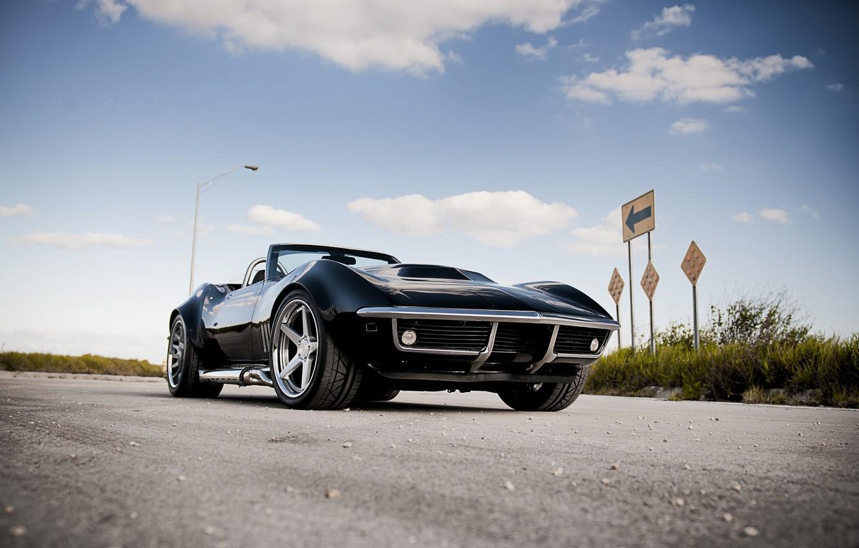 Photo wallpaper corvette, chevrolet, cars, auto, 1970, wallpapers auto, Tuning cars, Tuning auto, chevrolet corvette
