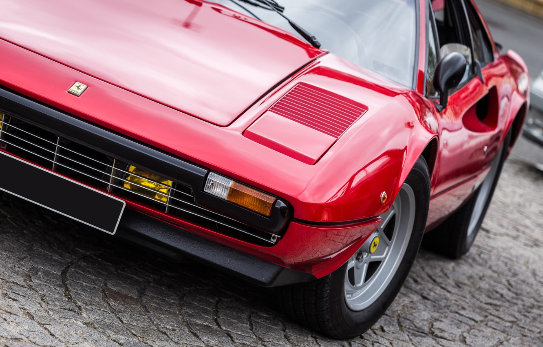 Photo wallpaper Ferrari, supercar, red, classic, 308