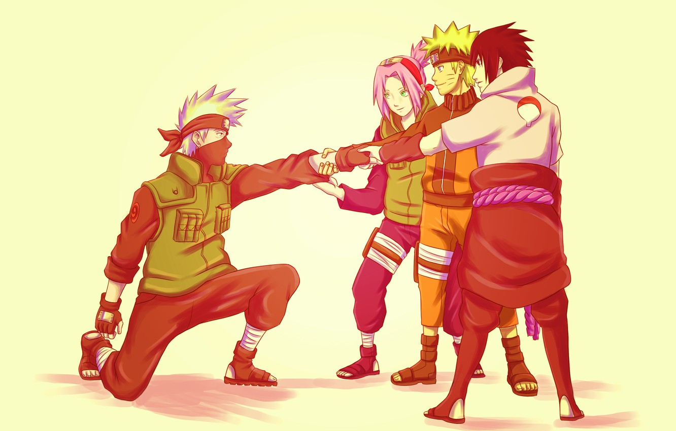 art espurrfect naruto team 7