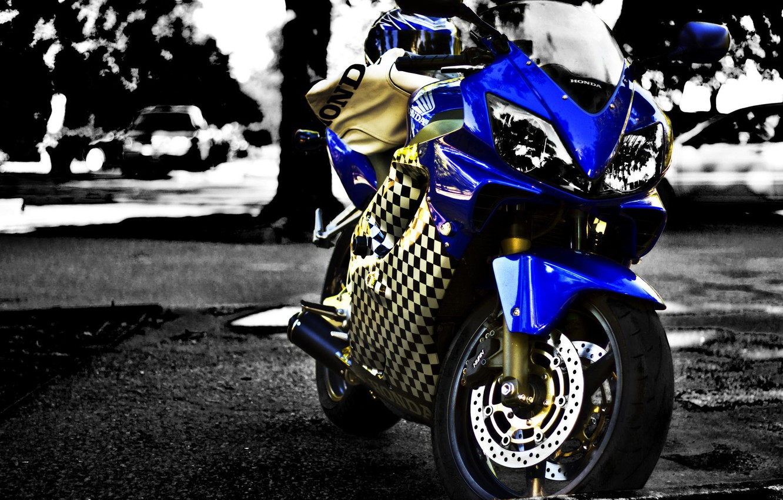 Photo wallpaper motorcycle, Honda, moto, Honda, motorcycle, superbike, Cbr F4i