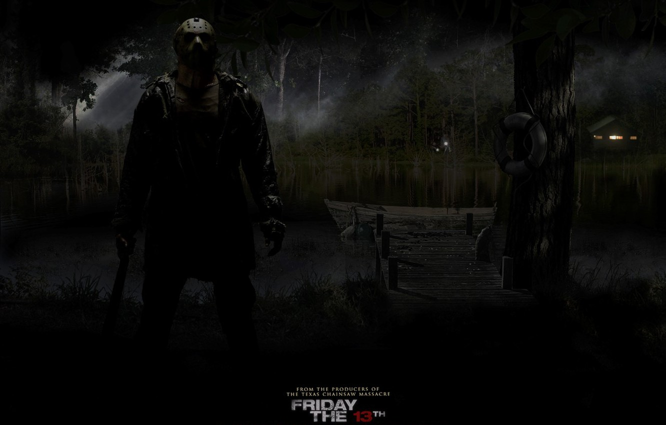 Photo wallpaper Jason, Friday the 13th