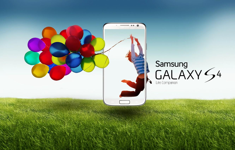 Photo wallpaper Samsung, Samsung, galaxy s4