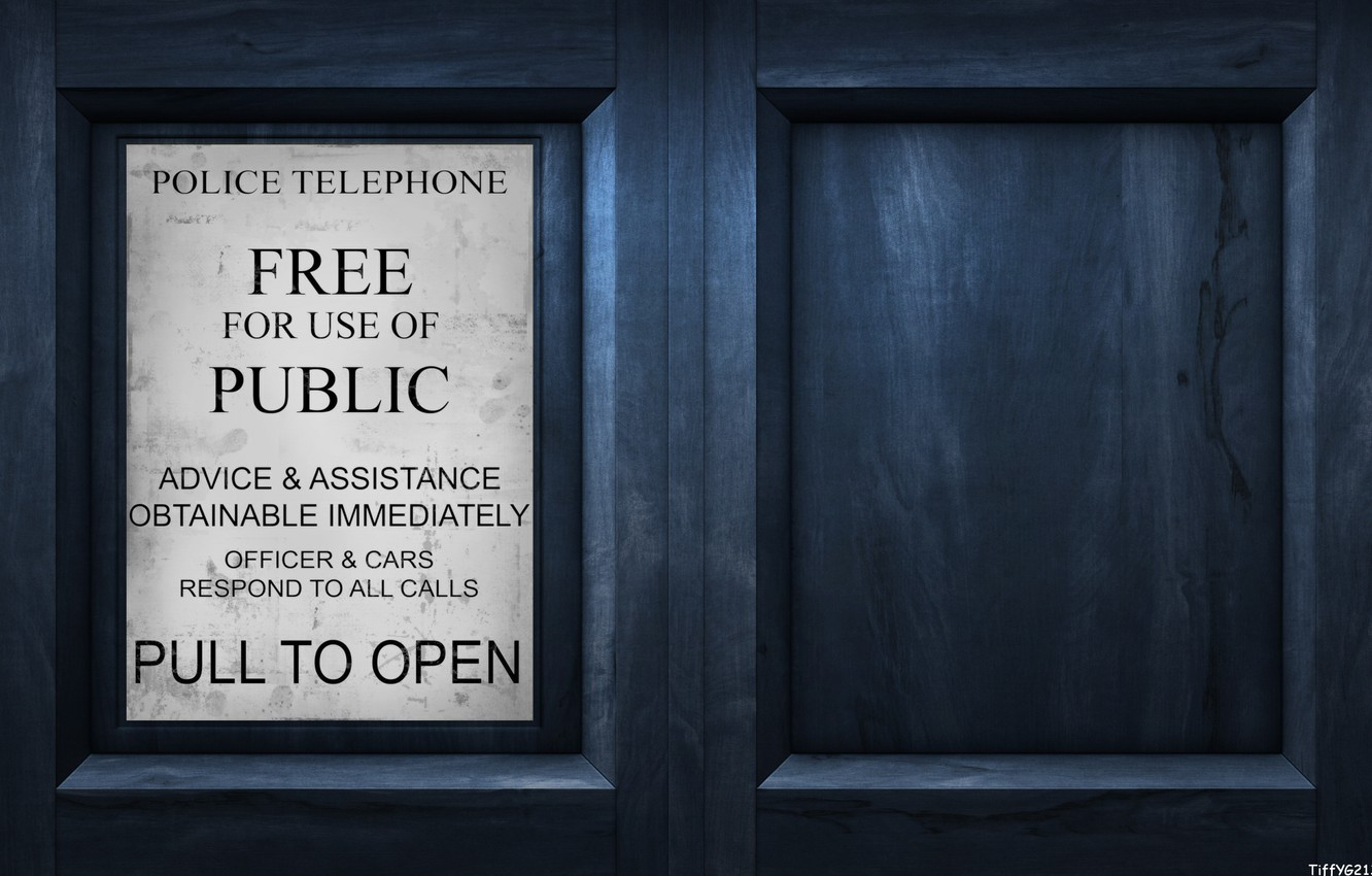 Photo wallpaper plate, the door, the series, time machine, doctor who, Doctor who, police box