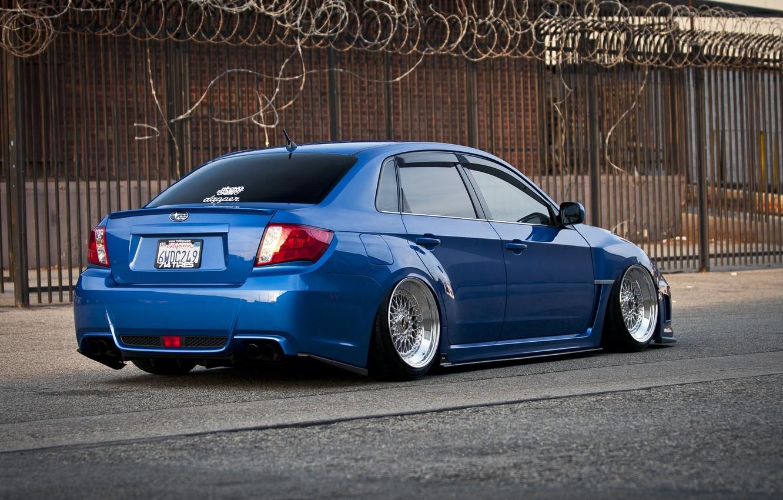 Photo wallpaper Subaru, Impreza, WRX, Tuning, JDM