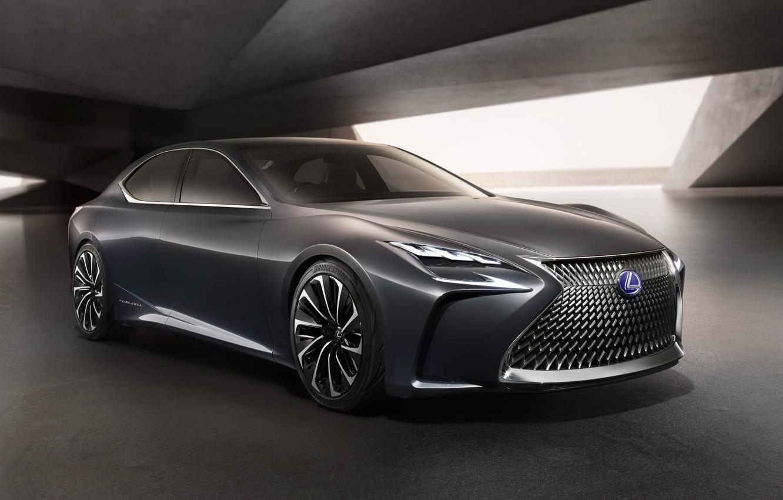 Photo wallpaper Concept, Lexus, the concept, sedan, Lexus, LF FC