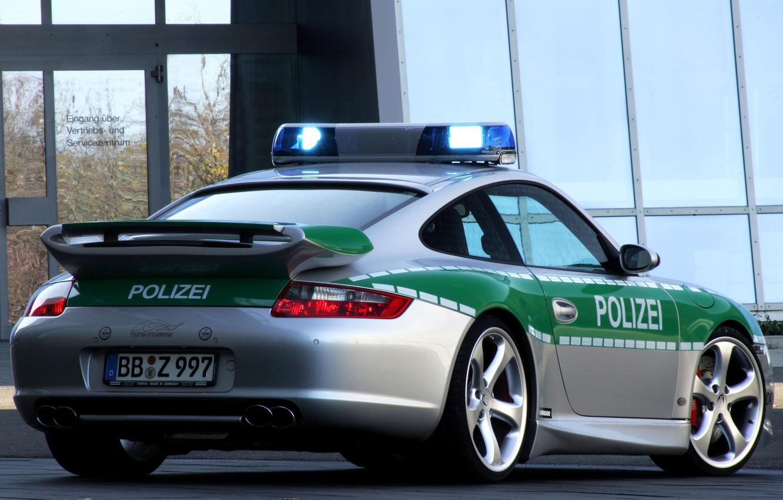 Photo wallpaper 911, Porsche, carrera, polizei