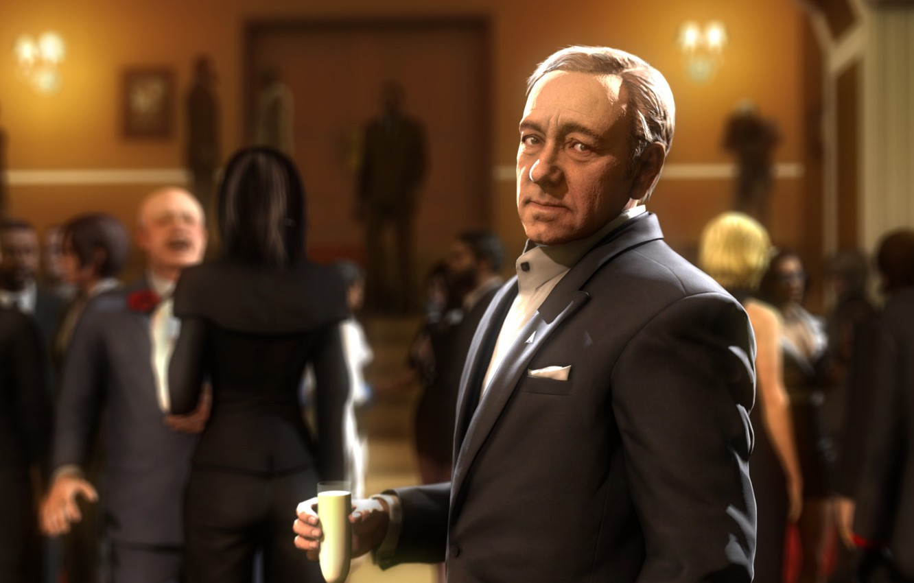 Wallpaper Call Of Duty Party Cod Crossover Fan Art Call Of Duty Advanced Warfare Advanced Warfare House Of Cards Kevin Spacey Frank Underwood Jonathan Irons Garry S Mod Images For Desktop Section Rendering