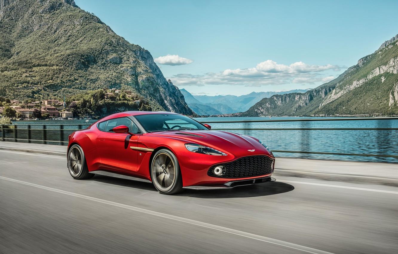 Photo wallpaper Concept, Aston Martin, Aston Martin, Zagato, Vanquish, vankvish