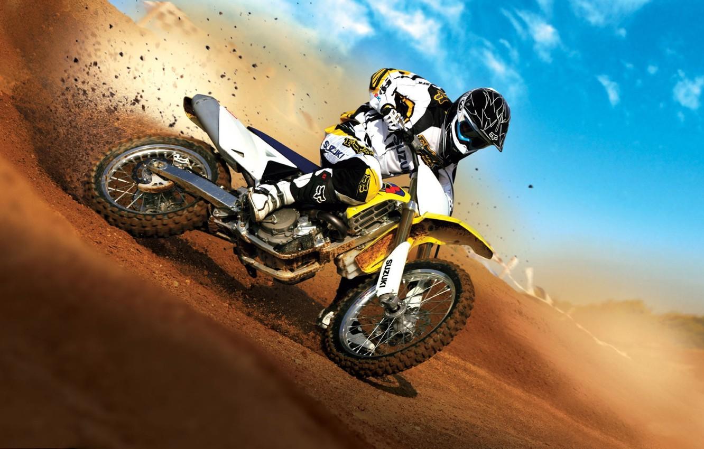 Photo wallpaper Bike, Motorcycle, Motocross