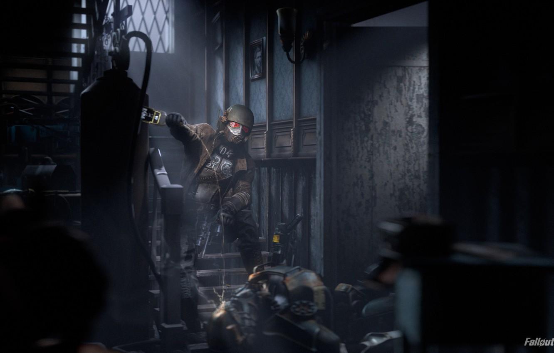 Wallpaper Fallout Fallout New Vegas Armor Helmet