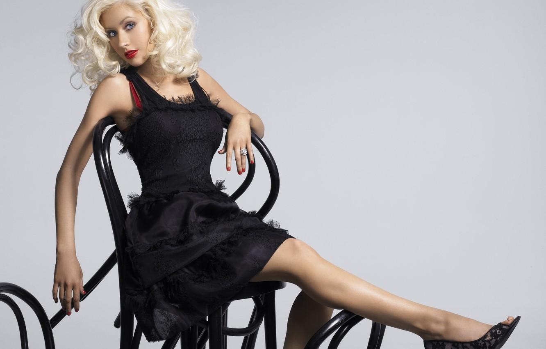 Photo wallpaper blonde, singer, Christina Aguilera, celebrity, Christina Aguilera