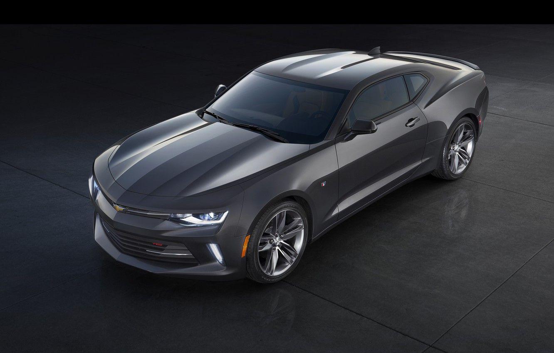 Photo wallpaper Chevrolet, Camaro, Chevrolet, Camaro, 2015