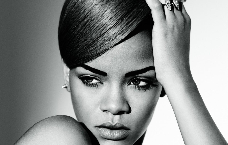 Photo wallpaper face, singer, Rihanna, celebrity, Rihanna
