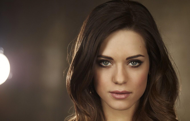 Photo wallpaper face, actress, brunette, green eyes, Lyndsy Fonseca, Lyndsey Fonseca