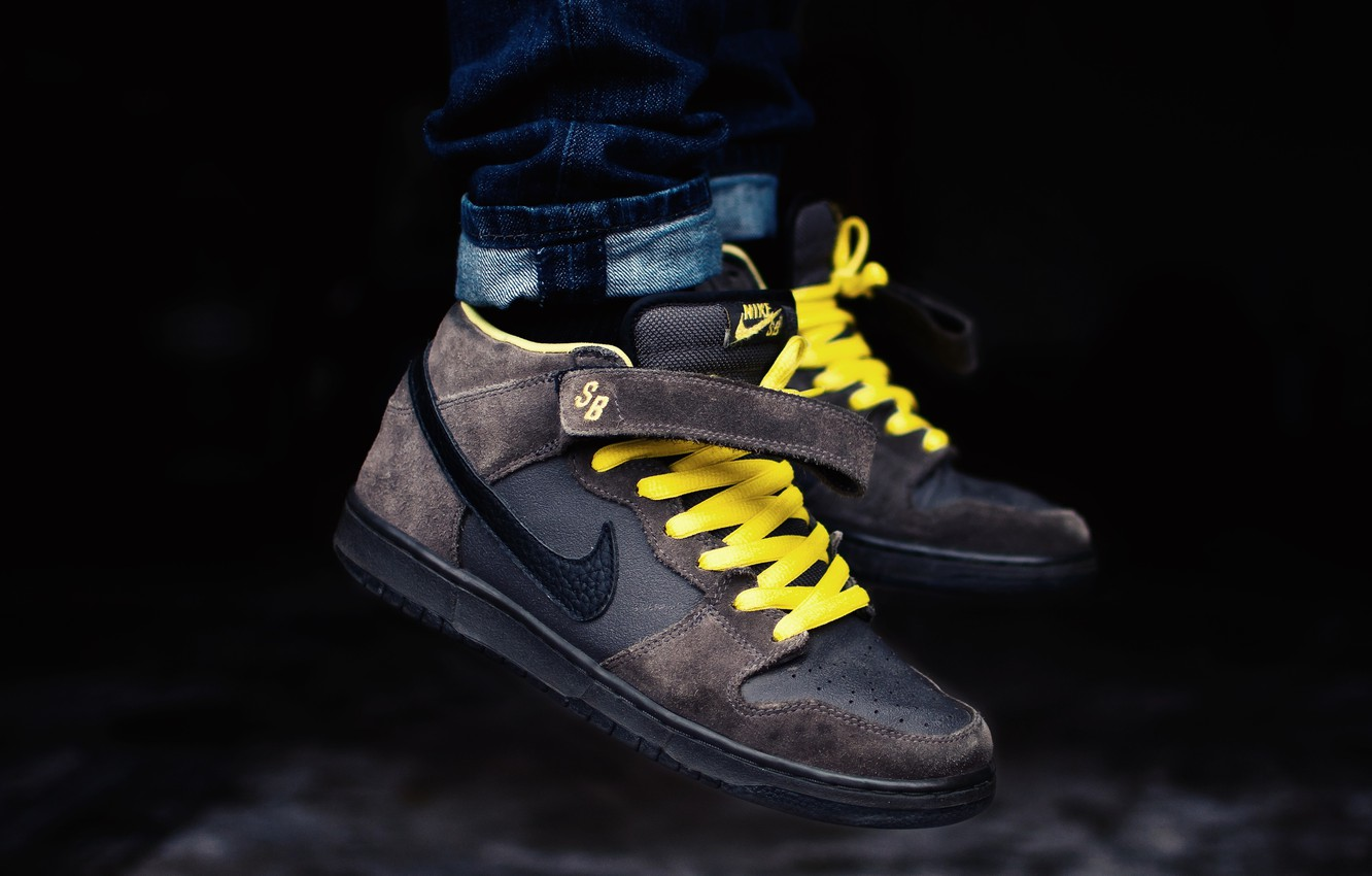 Wallpaper Sneakers Brand Nike Pro Leviatation Mid Dunk Images