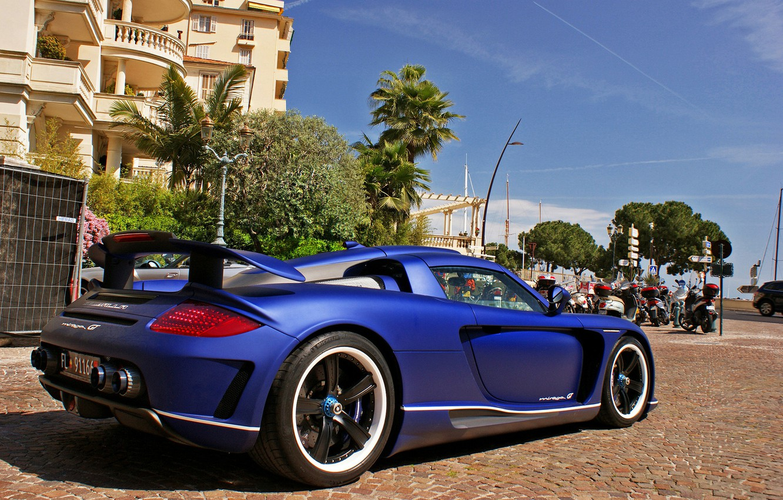 Photo wallpaper Porsche, Gemballa, Carrera GT, Mirage GT