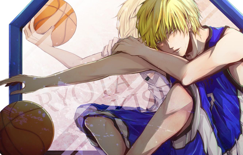 Photo wallpaper movement, the ball, form, guy, Kuroko From Basket, Kuroko's basketball, Kise Ryouta