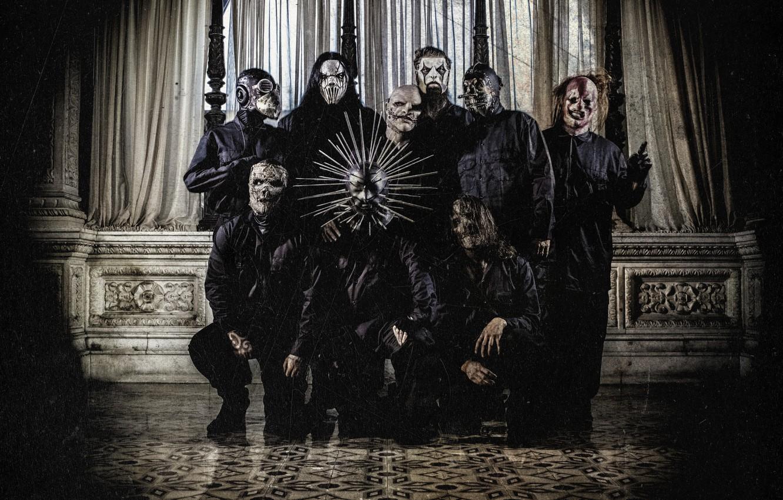 Photo wallpaper Metal, Slipknot, Nu-Metal, Nu metal, Slipnot, Corey Taylor, Jim Root, Sid Wilson, Mick Thomson, Chris …