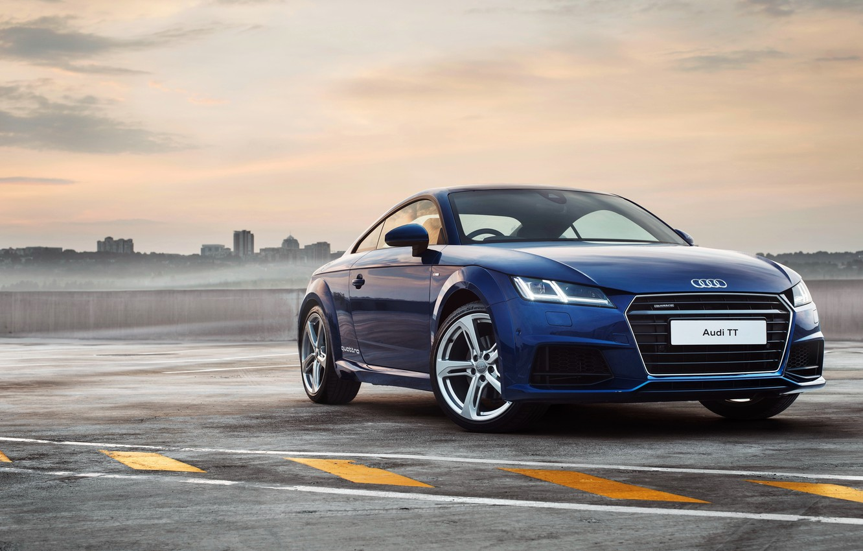 Photo wallpaper Audi, Audi, Coupe, quattro, 2015, ZA-spec, S line, 2.0 TFSI