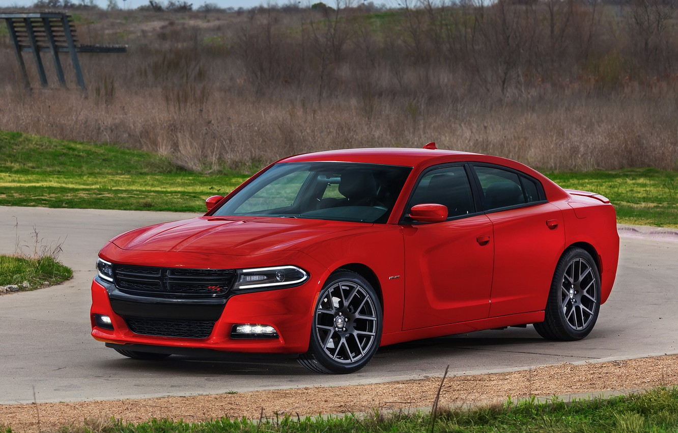 Photo wallpaper dodge, charger, 2014