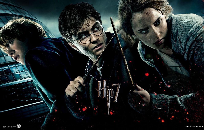 Wallpaper Franchise Trinity Ron Weasley Daniel Radcliffe