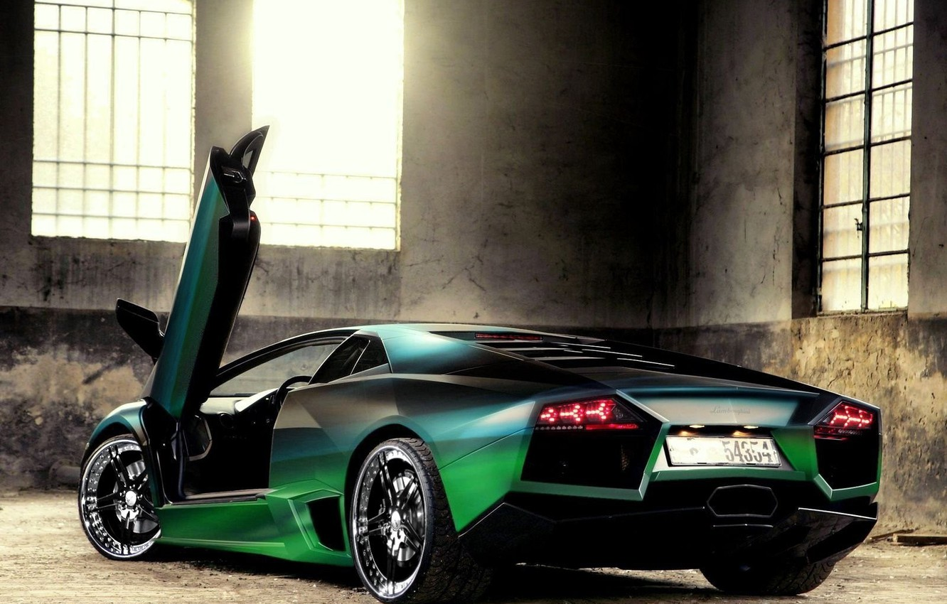 Photo wallpaper light, Windows, Lamborghini, Lamborghini