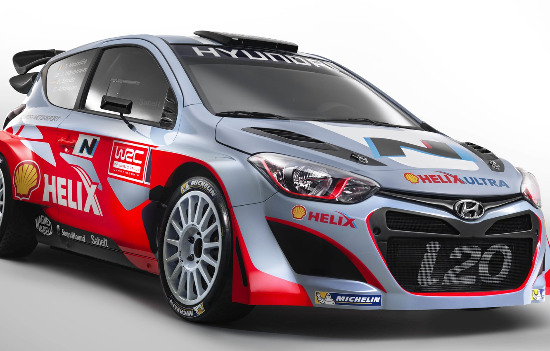 Photo wallpaper Hyundai, WRC, Rally, Rally, i20, Hyundai
