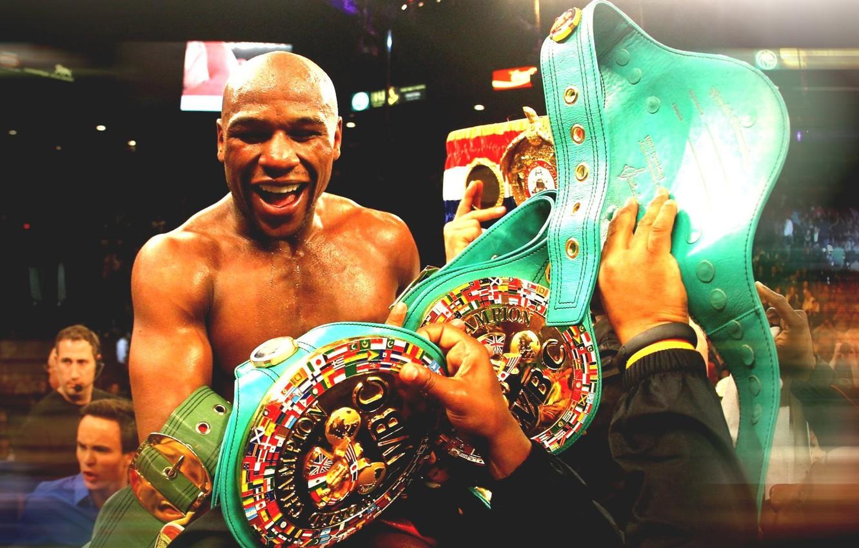 Wallpaper Joy Boxing Champion Boxing Floyd Mayweather