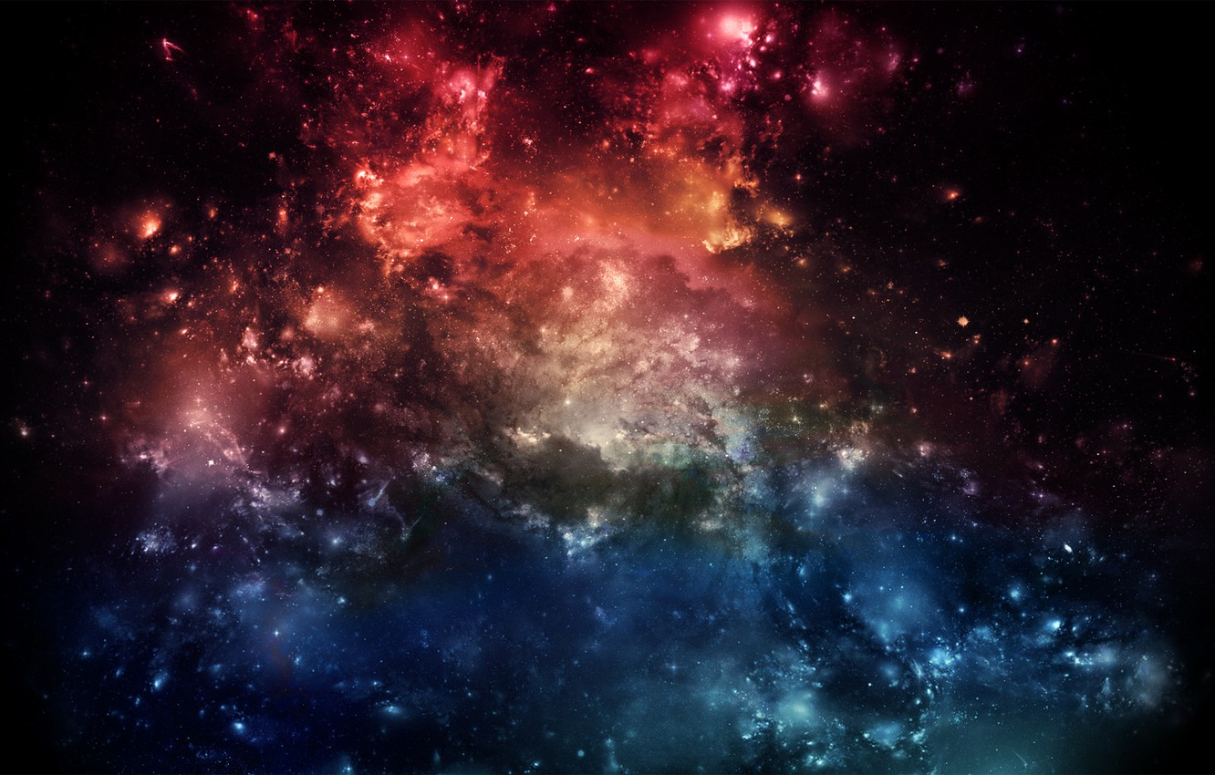 Photo wallpaper space, fantasy, galaxy, space, fantasy, the Wallpapers, pictures for your desktop
