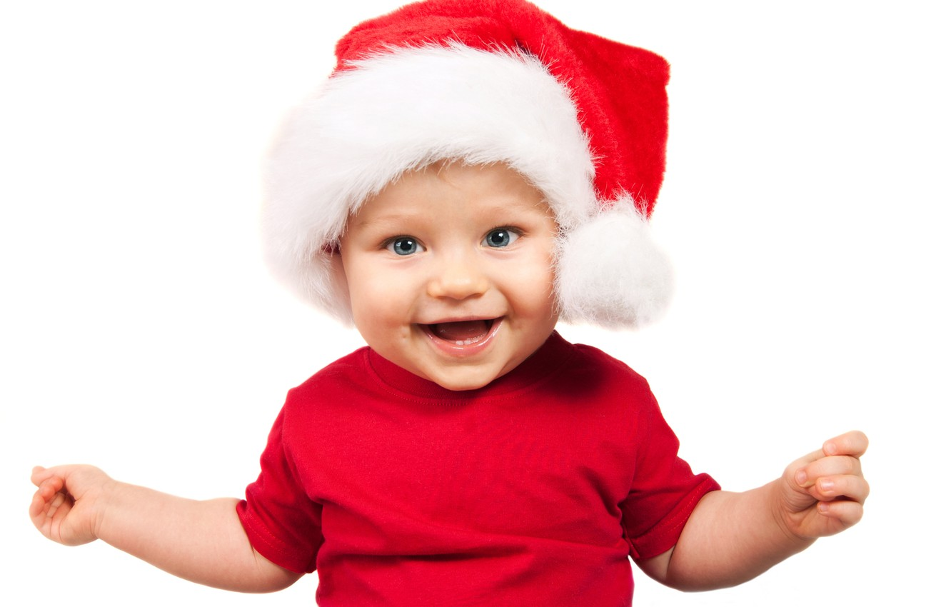 Photo wallpaper children, New year, guy, new year, happy, merry christmas, children, happy, merry Christmas, Adorable funny …
