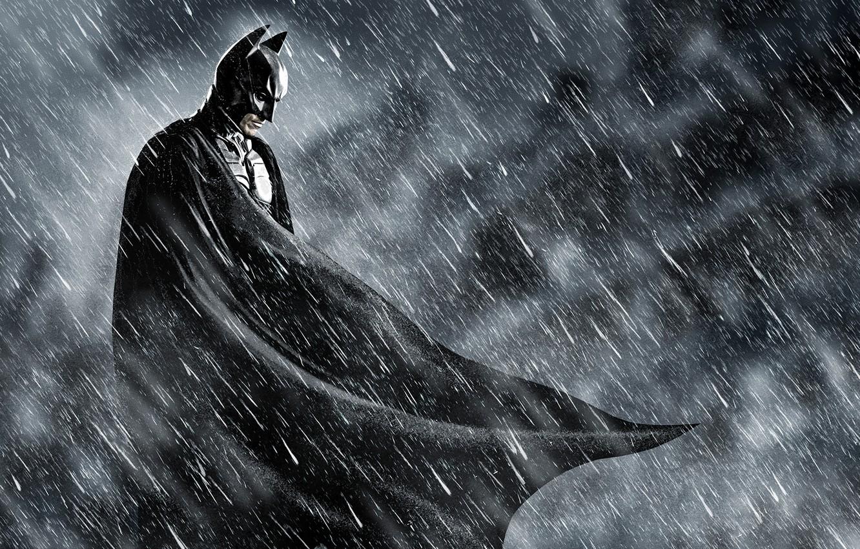 Wallpaper Batman Batman The Dark Knight Rain Comics