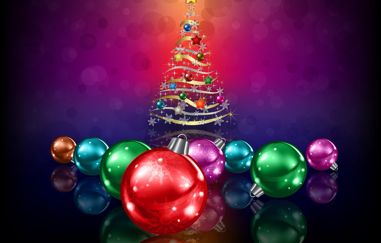 Photo wallpaper balls, decoration, holiday, New Year, Christmas, Christmas, New Year, Christmas