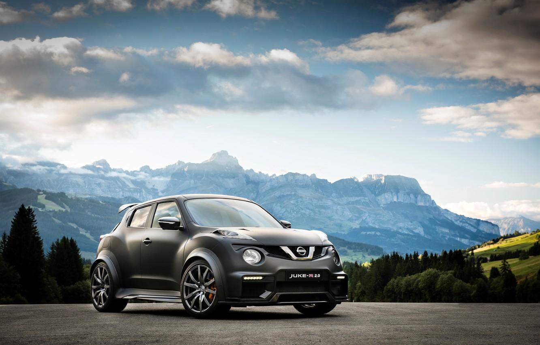Photo wallpaper Concept, the concept, Nissan, Nissan, juke, Juke-R, 2015