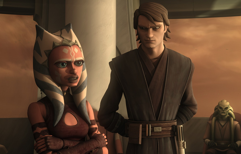 Wallpaper Skywalker Jedi Animated Series Star Wars The