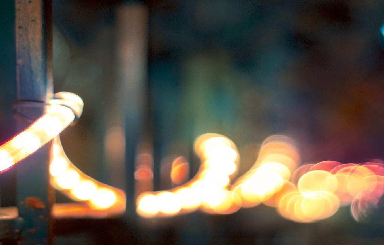 Photo wallpaper holiday, new year, spiral, lights, decoration, christmas, new year, garland, lanterns, light bulb, merry, spiral
