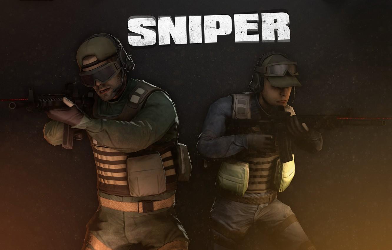 Photo wallpaper Sniper, Sniper, Overkill Software, PAYDAY 2